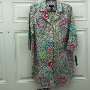 Ralph Lauren night shirt.